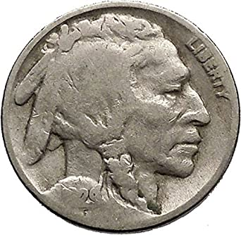 Buffalo Nickel 5 Cents Of United States Of A Coin Good