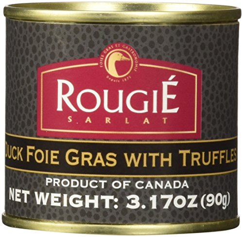 Rougie Foie Gras with Truffles Fully Cooked, 3.17 oz ()