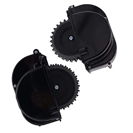 SM SunniMix 2X Rueda Derecha Izquierda de Aspiradoras Adecuado para Robot Ilife X5 V5s Durable