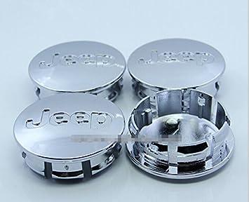 D & R® Juego de 4 pcs 56 MM Centro de rueda Caps Hubcaps para
