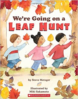 Image result for we're going on a leaf hunt