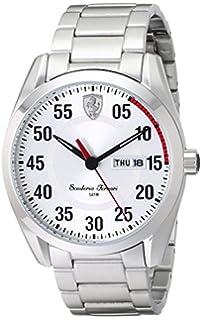 Ferrari 830178 Scuderia Stainless Steel Mens Watch - Silver Dial