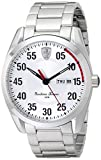 Automotive : Ferrari Men's 0830178 D 50 Analog Display Quartz Silver Watch