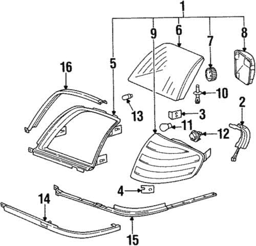 1991 Buick Park Avenue Turn Signal Diagram Wiring