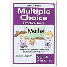Multiple Choice Maths 4 by Pat Quinn (2009-09-28)