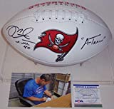 Mike Alstott Autographed Hand Signed Tampa Bay Bucs