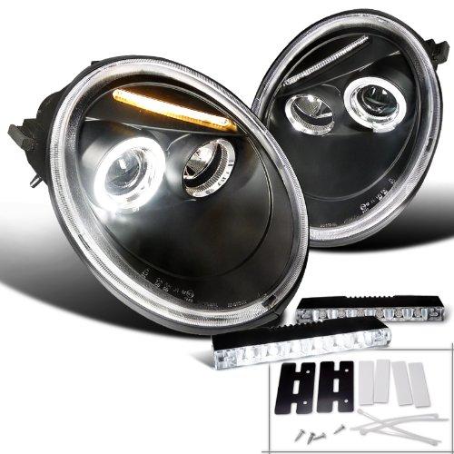 Black Beetle Projector Headlight Bumper