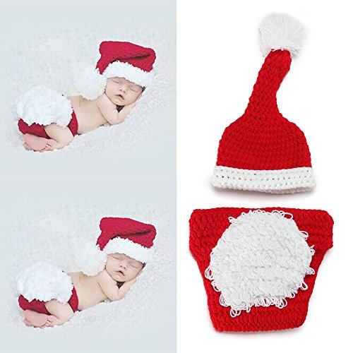yazi Crochet Knitted Photography Christmas