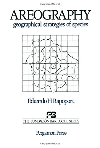 Descargar Libro Areography: Strategies Of Species E.h. Rapoport