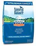 Natural Balance Original Ultra Whole Body Health Chicken, Chicken Meal, Duck Meal Formula Dry Dog Food, 15-Pound