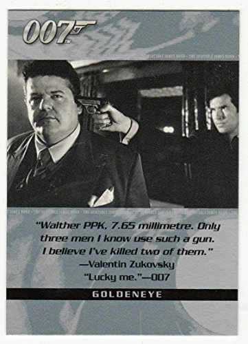 Valentin Zukovsky - GoldenEye (Trading Card) James Bond 007 - The Quotable # 94 Rittenhouse Archives 2004 - NM/M