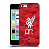 Official Liverpool Football Club Home Colourways Liver Bird Camou Hard Back Case for iPhone 5c
