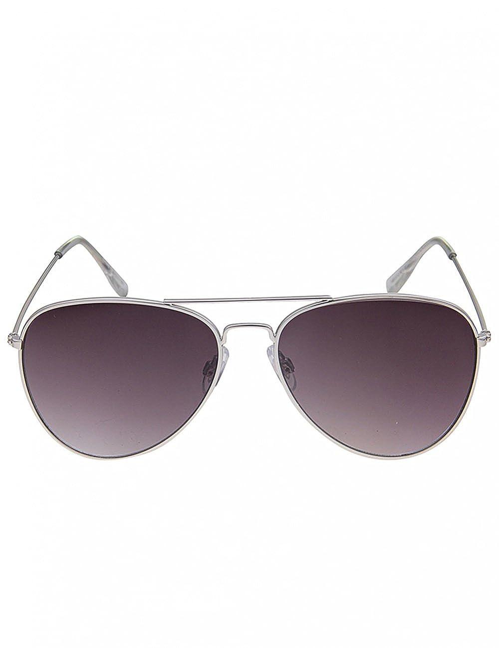 Leslii Damen Sonnenbrille Classic Look Schwarz Kunststoff Ø