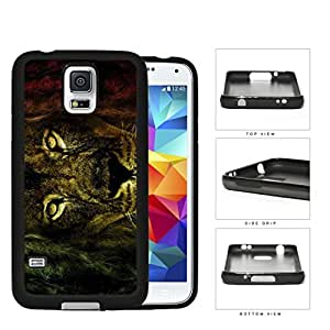 Fierce Rastafarian Lion Rubber Silicone TPU Cell Phone Case Samsung Galaxy S5 SM-G900