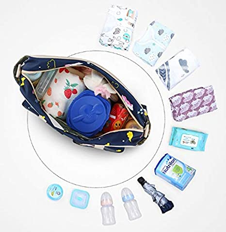 Adjustable Straps Zebra Insular/® Multifunctional Waterproof Mummy Shoulder Bag Diaper Bag Chic Nappy Changing Bag Tote//Messenger Style Large Light Weight with Changing Mat