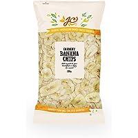 J.C.'S QUALITY FOODS Banana Chips, 280 g, Banana