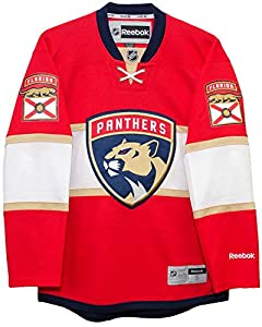 Florida Panthers 2016-17 Home Reebok Premier Men's NHL Jersey (XX-Large)