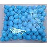 Dr Nezix 150Pcs Scrub 40mm Table Tennis Balls, Advanced Training Ping Pong Balls Lottery Balls (Practice ping-Pong Ball)