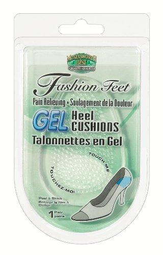 Fashion Feet - Moneysworth & Best Fashion Feet Gel Heel Cushions (One Size)