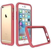 RhinoShield Coque pour iPhone 6 / iPhone 6s [Bumper CrashGuard]   Housse Fine avec Technologie Absorption des Chocs [Résiste aux Chutes de Plus de 3,5 mètres] - Rose Corail