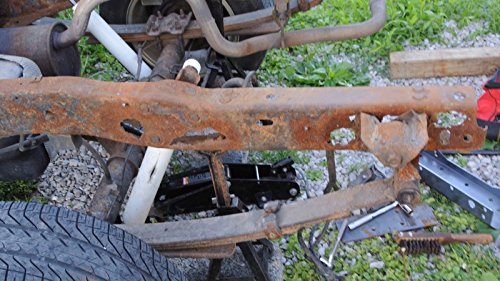 93-04 Ford Ranger Rear Frame Weld On Repair Channels / Rot / Fix ...