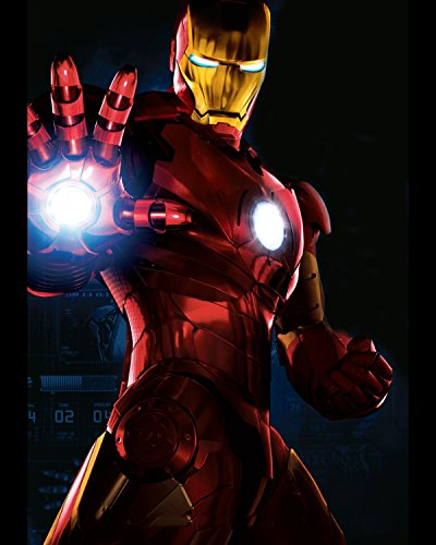 Marvels Avengers Iron Man Poster Wall Decor High Quality