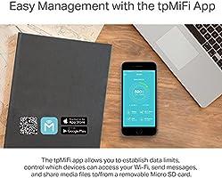 Avanzado enrutador y Punto de Acceso portátil WiFi TP-LINK M7350 ...