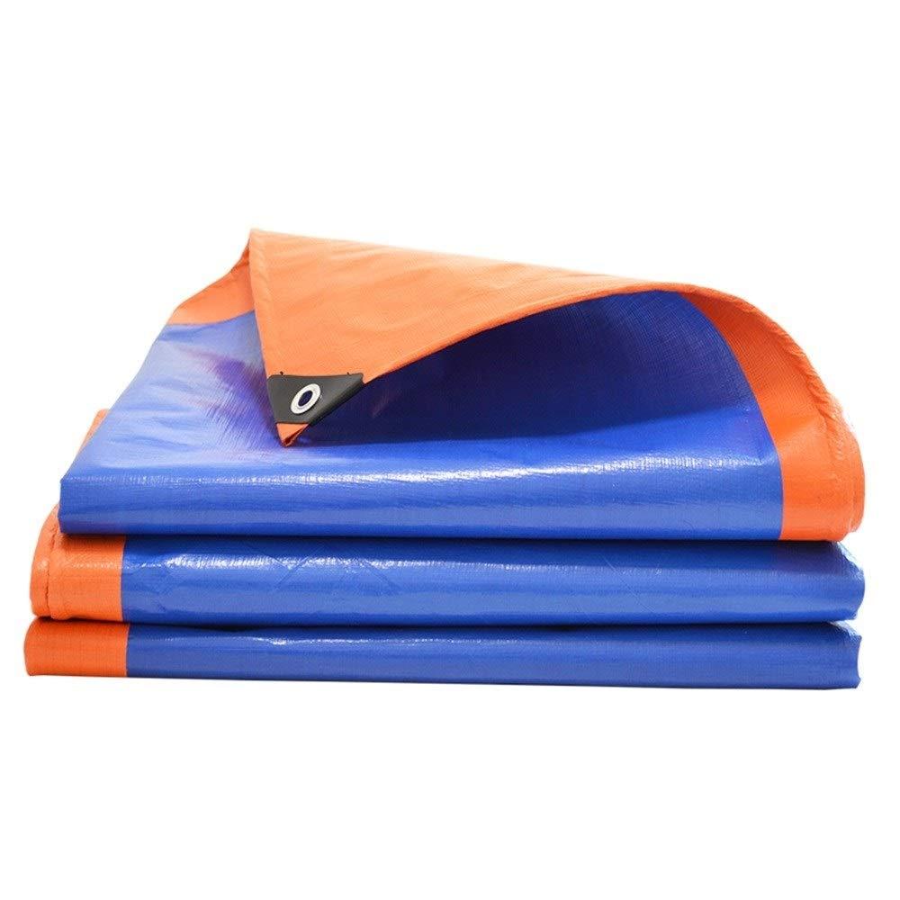 bleu 1.9×1.9m ALGLibre BÂche De Prougeection BÂches en Toile Prougeection Solaire Isoler La Chaleur Plein Air Toit Bateau Camping Couverture Voiture Tente La Canopée,23 Tailles (Couleur   bleu, Taille   2.8×4.8m)