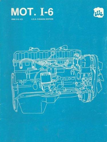 1986 AMC Jeep Component Service Manual, 4.0/4.2L Six-Cylinder Engine, MOT. I-6, Cherokee/Wagoneer/Comanche/YJ/Wrangler/CJ-7/Scrambler/Grand Wagoneer/Truck/Eagle