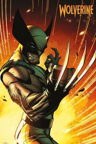 Marvel Comics Poster Wolverine Uniform - Póster (61 cm x 91,5 cm) formato grande + en caja de regalo. LISTA para regalar!: Amazon.es: Hogar