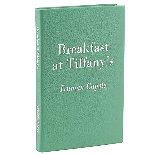 BREAKFAST AT TIFFANYS by Truman Capote special edition in French Calfskin Mint Leather -