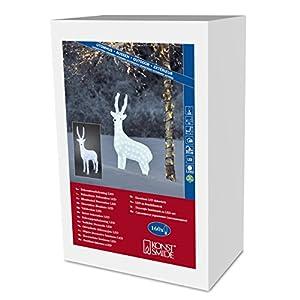 Weihnachtsbeleuchtung Rentier Beweglich.Konstsmide 6168 203 Led Acrylfigur Rentier Für Außen Gute
