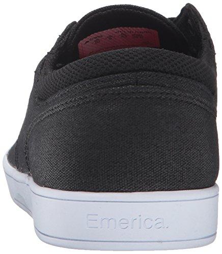 Emerica The Figueroa - Zapatillas de skateboarding para hombre negro/blanco/negro