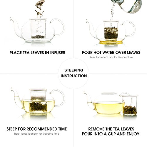 Teabox USDA Organic Himalayan Darjeeling Black Loose Leaf Tea 12 Oz. (170 Cups) | Fresh Whole Leaf Tea (2 Free Exotic Samples) |100% Natural Ingredients: Basil, Fennel, Orange | Sourced from India by Teabox (Image #5)