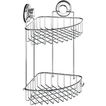 Amazon.com: Taozun SUS 304 Stainless Steel Shower Caddy Basket 2 ...
