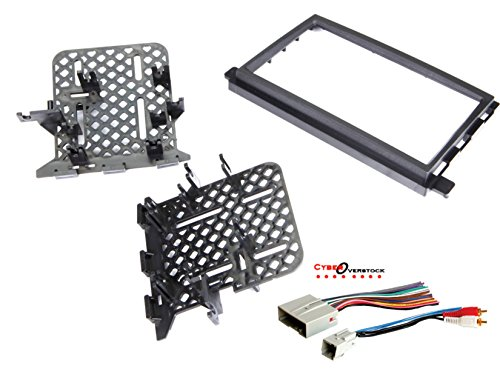 American Trim Dash - Car Radio Stereo CD Player Dash Install Mounting Trim Bezel Panel Kit + Harness