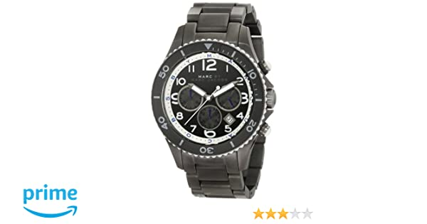 Amazon.com: Marc by Marc Jacobs Womens MBM5025 Rock Gunmetal Watch: Watches