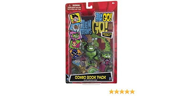 Teen Titans Go Beast Boy Comic Book Pack by Teen Titans Go!: Amazon.es: Juguetes y juegos