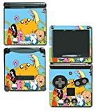 Adventure Time Jake Finn Princess Bubblegum Marceline Ice King BMO Video Game Vinyl Decal Skin Sticker Cover for Nintendo GBA SP Gameboy Advance System