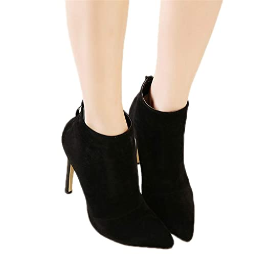 Image Unavailable. Image not available for. Color  Women Pumps High Heels  Boots Shoes Woman Pointed Toe Wedding Party ... 682fdaf18cf5