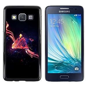 All Phone Most Case / Oferta Especial Duro Teléfono Inteligente PC Cáscara Funda Cubierta de proteccion Caso / Hard Case Samsung Galaxy A3 // Space Abstract