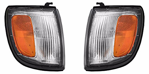 Fleetwood Bounder Diesel 2001-2002 RV Motorhome Pair (Left & Right) Replacement Corner Turn Signal Lights Lamps with Bulbs