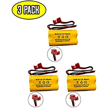 10-Pack Emergency//Exit Lighting Battery Fits and Replaces Interstate NIC1158 PCHA4//5-2-SR-LC Interstate Batteries ANIC1158 Lithonia ELB2P401N Powercell PCNA4//5-2-SR-LC BGN1100-2DWP-41REC
