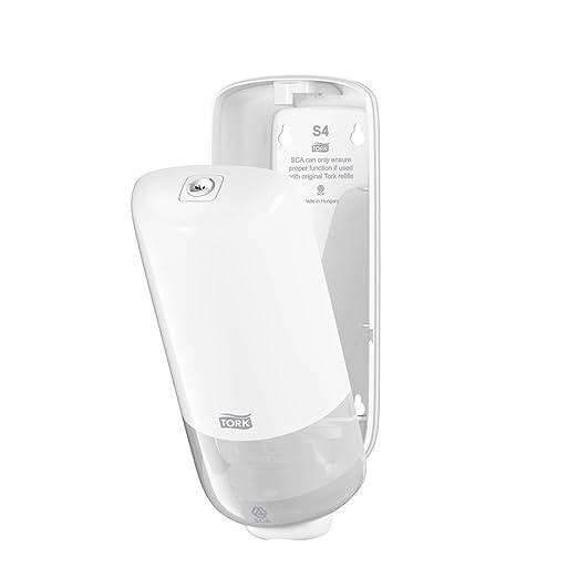 Tork 561500 Dispensador para Jabón en Espuma / Dosificador Elevation compatible con el sistema S4 / Blanco: Amazon.es: Industria, empresas y ciencia