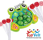 ToyVelt Whack A Frog Game - for Boys and Girls Ages 2,3,4,5,6 Years Old - Educational STEM, Early Developmenta