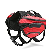 Dog.Dog.Cat. Super High Performance Precise Fitting Dog Backpack with removable pack and precise fit dog harness. (Medium 23'' - 35'')