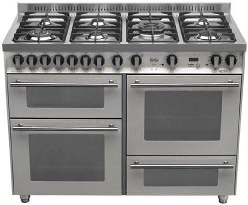 Lofra P126SMFE+MF/2CI - Cocina (Cocina familiar tipo industrial ...