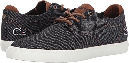 Mens Lacoste Espère 317 2 Sneaker Nero Marrone / Scuro