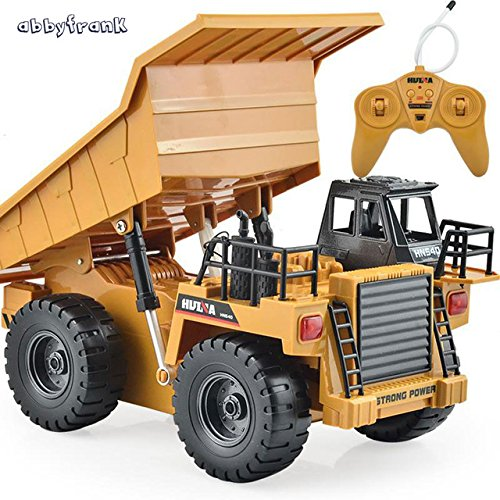 Toy, Play, Game, Abbyfrank Remote Control Car 2.4G RC Truck Engineering Vehicles Truck Dump Truck Tipper Multi-function Diecast Car Alloy Toys, Kids, Children (Truck Rc Game)