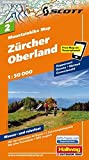 MTB-Karte 02 Zürcher Oberland 1:50.000: Mountainbike Map (Hallwag Mountainbike-Karten)